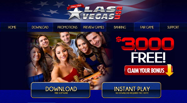 LasVegasUsa Casino Screenshot