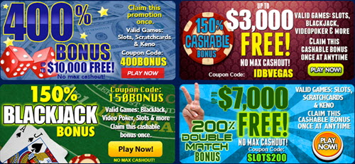 vegas casino online promotions new players bonuses